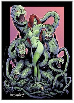 Poison Ivy vs Batman