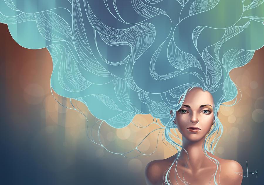 Mind Like a River II by kelogsloops