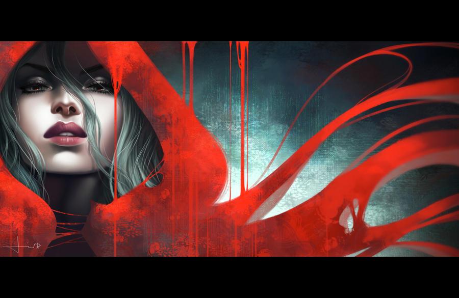 The Red Hood by kelogsloops