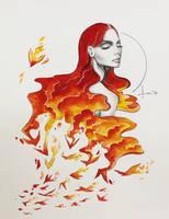Freedom: Phoenix by kelogsloops