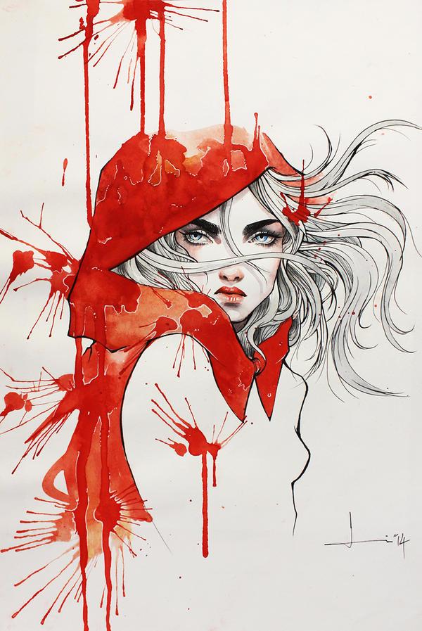 A Hood of Blood by kelogsloops on DeviantArt