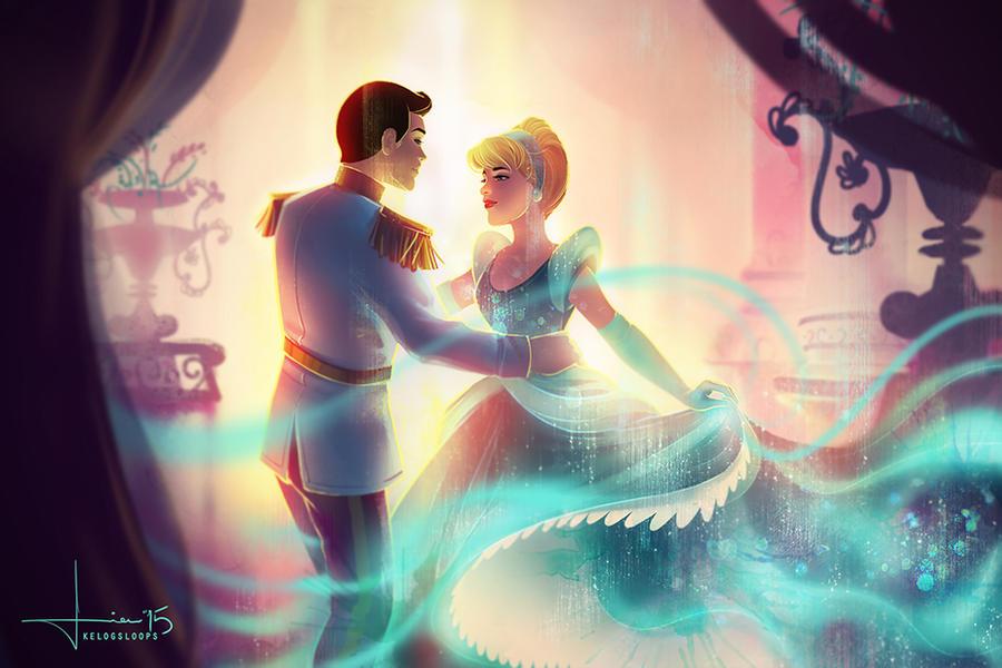 Cinderella: A Dream is a Wish by kelogsloops
