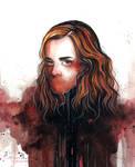 Hermione by kelogsloops