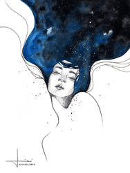with her mind in space by kelogsloops
