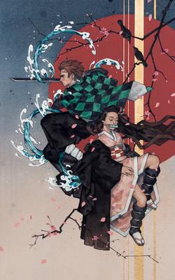 Demon Slayer: Tanjiro and Nezuko Kamado