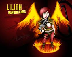 Lilith - Borderlands by RancidAlice