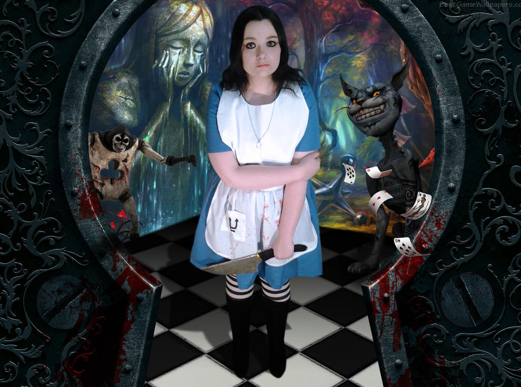 American Mcgee's Alice Cosplay - Alice Liddle by RancidAlice