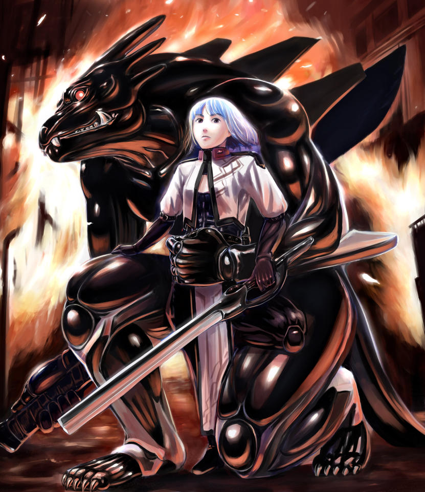 Full Metal Dragoon by seotch