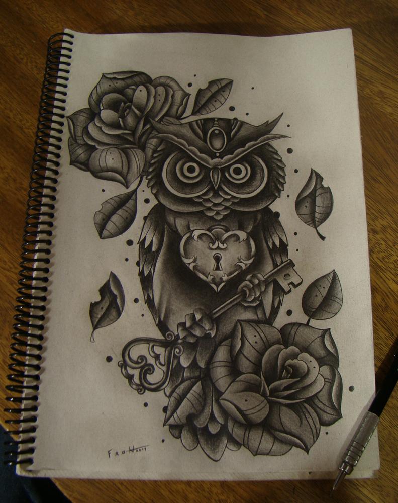 owl key by FraH