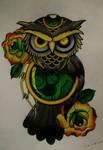 owl tattoo III