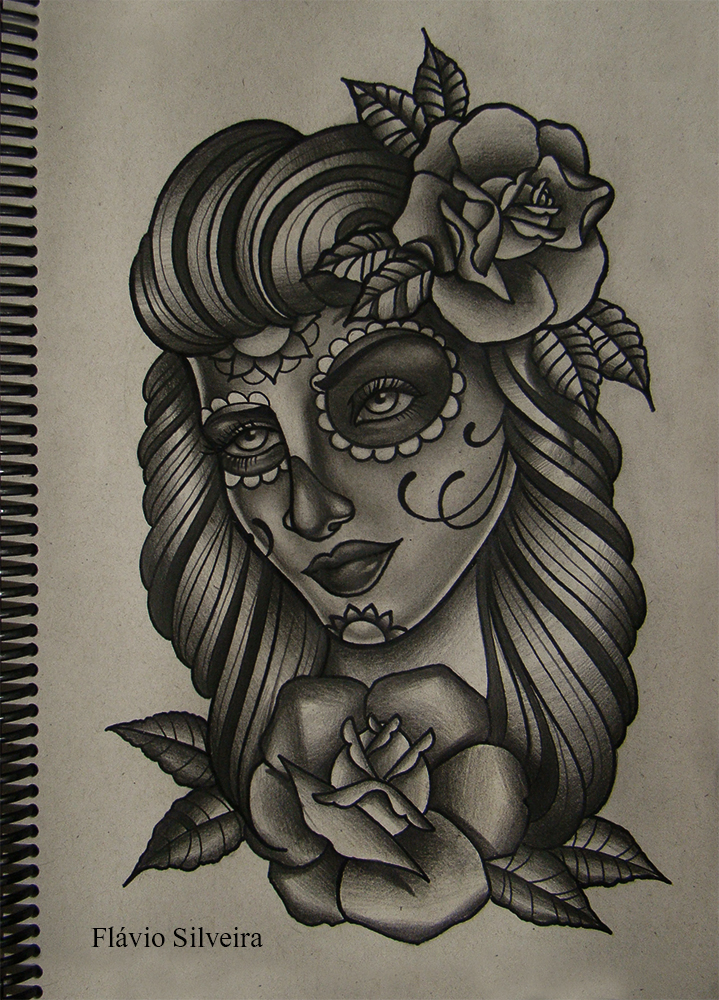 Mexican girl 5 by frah on deviantart for Mexican girl tattoos