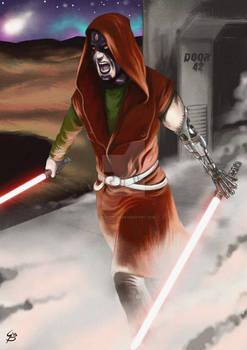 Sith con due spade laser