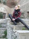 gothic steampunk STOCK photo