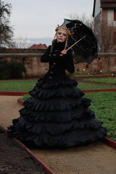 stock gothic lady