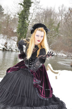 victorian gothic STOCK Madaley Selket