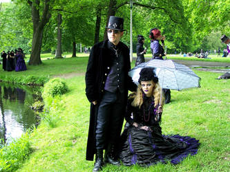 victorian picnic 2010 wgt leipzig by MadaleySelket