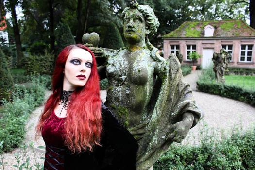 gothic baroque garden