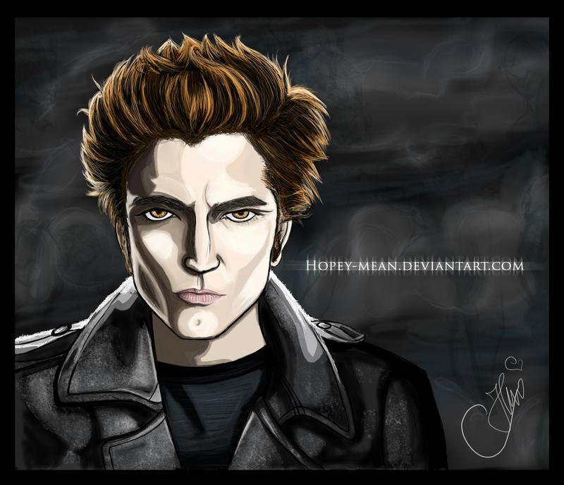 Edward Cullen - Twilight by Hopey-mean