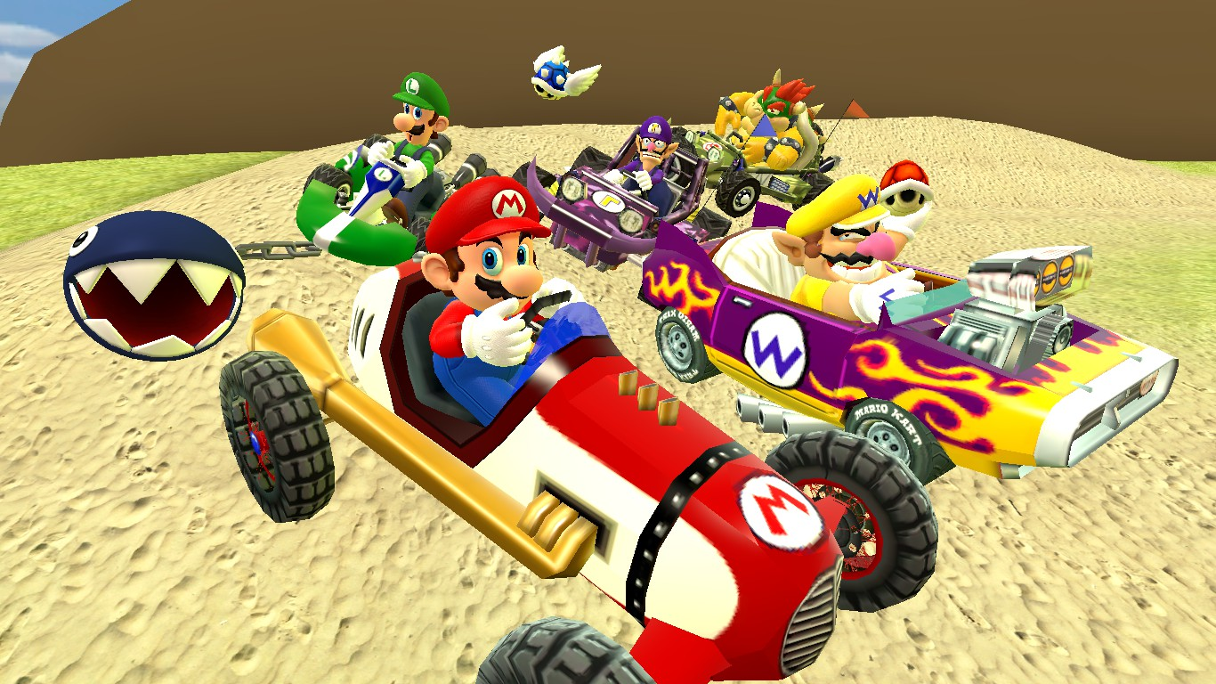 Mario kart 64 wallpaper