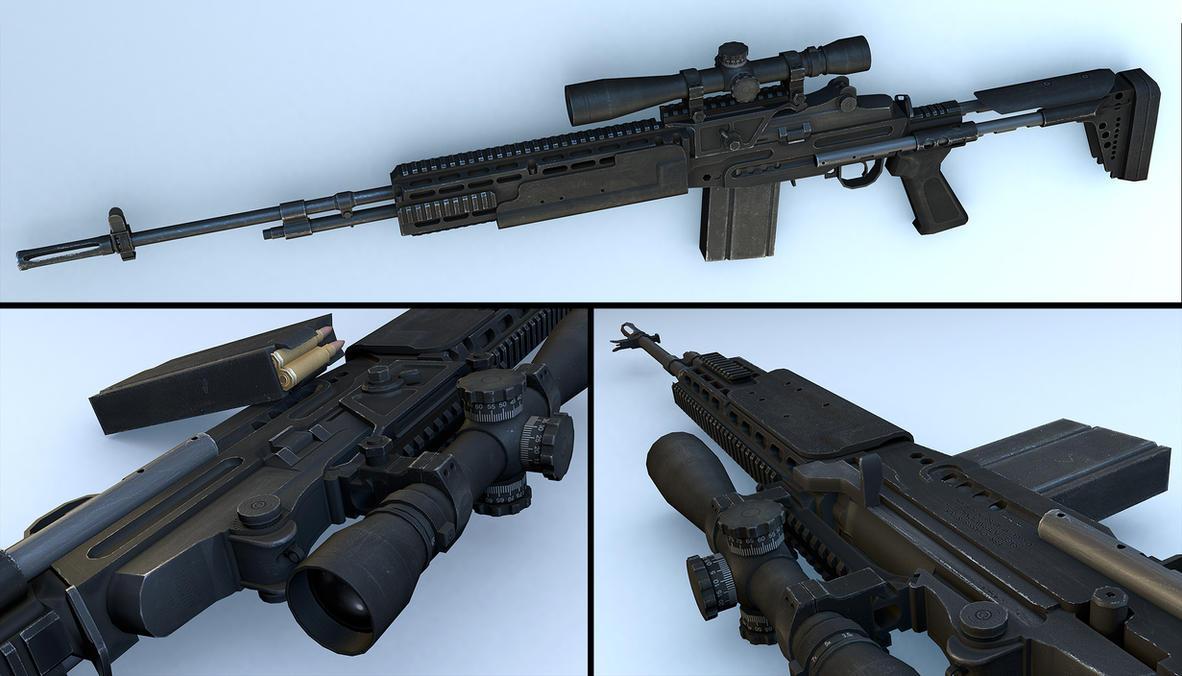 M14 EBR-RI Render Comp by Adriaan224 on DeviantArt