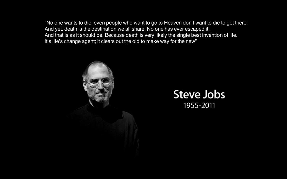 Quoted Steve Jobs Wallpaper by Darianbarr