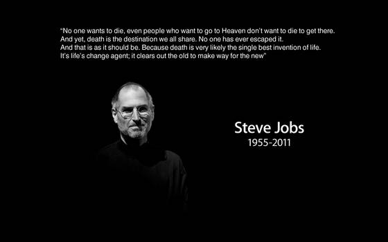 Quoted Steve Jobs Wallpaper