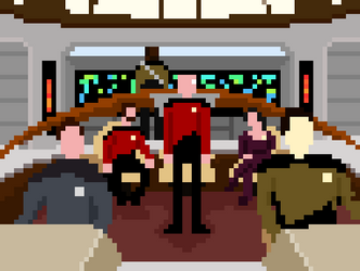 Star Trek: TNG Pixel Edition