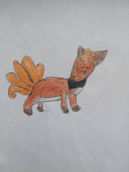X the vulpix by moonwolf3533