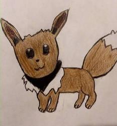 Eevee by moonwolf3533