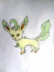 Leafeon by moonwolf3533