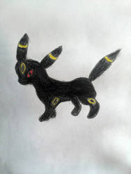 An Umbreon by moonwolf3533