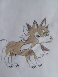 Lycanroc Midday form by moonwolf3533