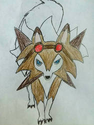 Luca The Lycanroc  by moonwolf3533
