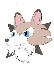 A Lycanroc icon? by moonwolf3533