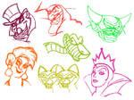 Disney Villians Sketch--Page 2