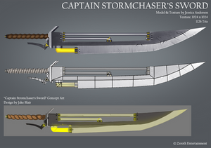 Captain Stormchaser's Sword