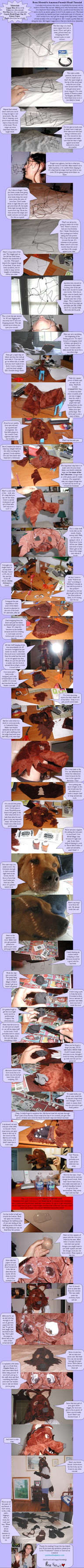 Fursuit Head Tutorial by RoseHexwit