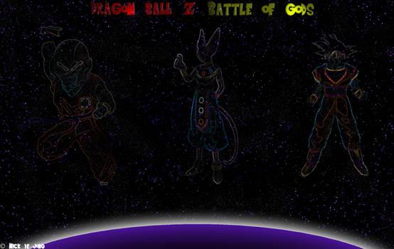 Dragon Ball Z Battle of Gods by Djsuperhero