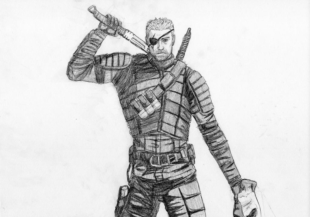 Deathstroke (Arrow) Grey By LucasBoltagon On DeviantArt