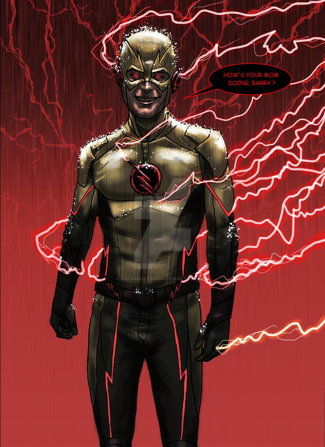 CW Reverse Flash UPDATE 10 10 2014 by LucasBoltagon on DeviantArt