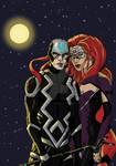 Inhumans Black Bolt and Medusa 13 12 2014 color