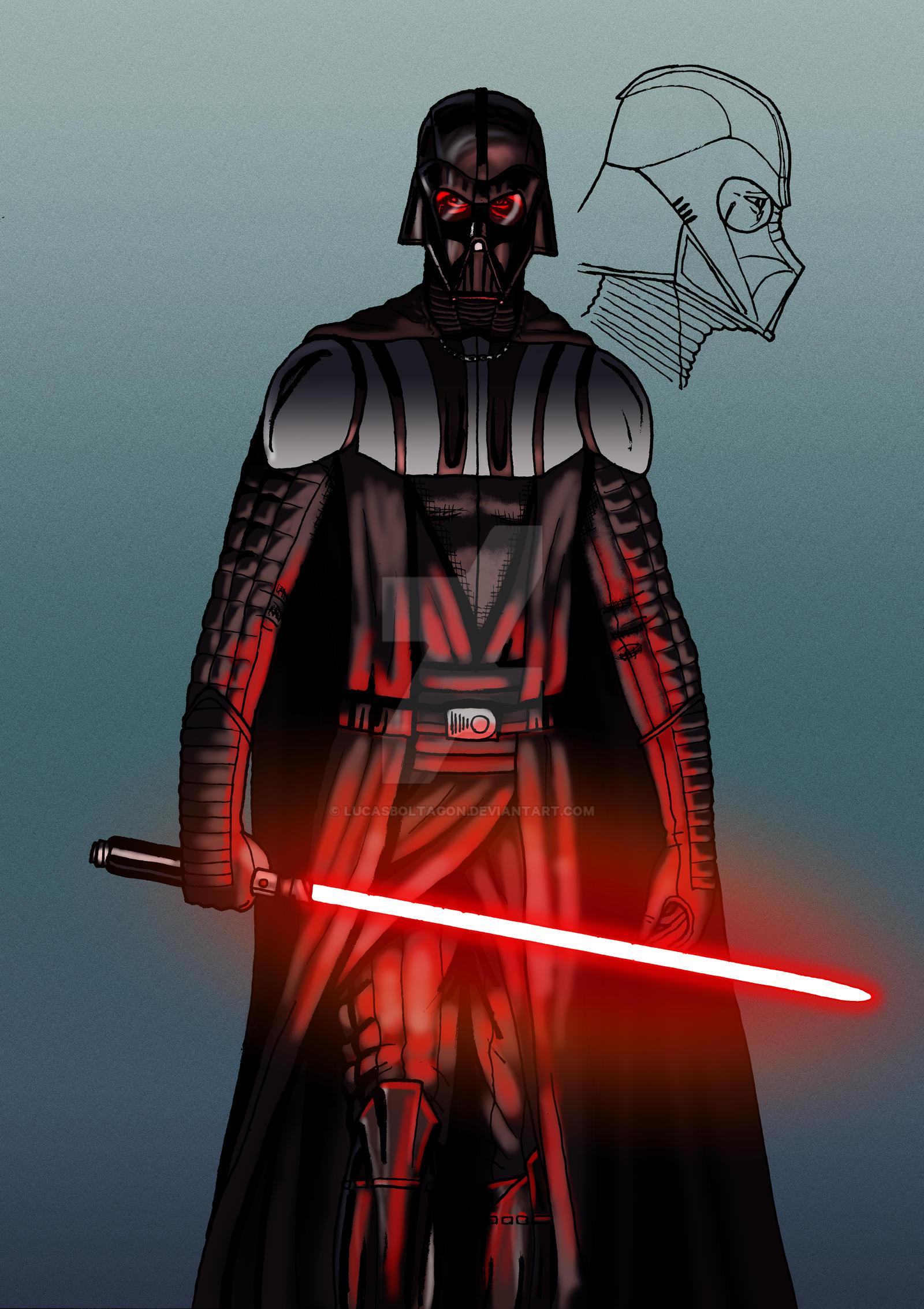 Darth Vader Modern Design 27 12 2015 By Lucasboltagon On