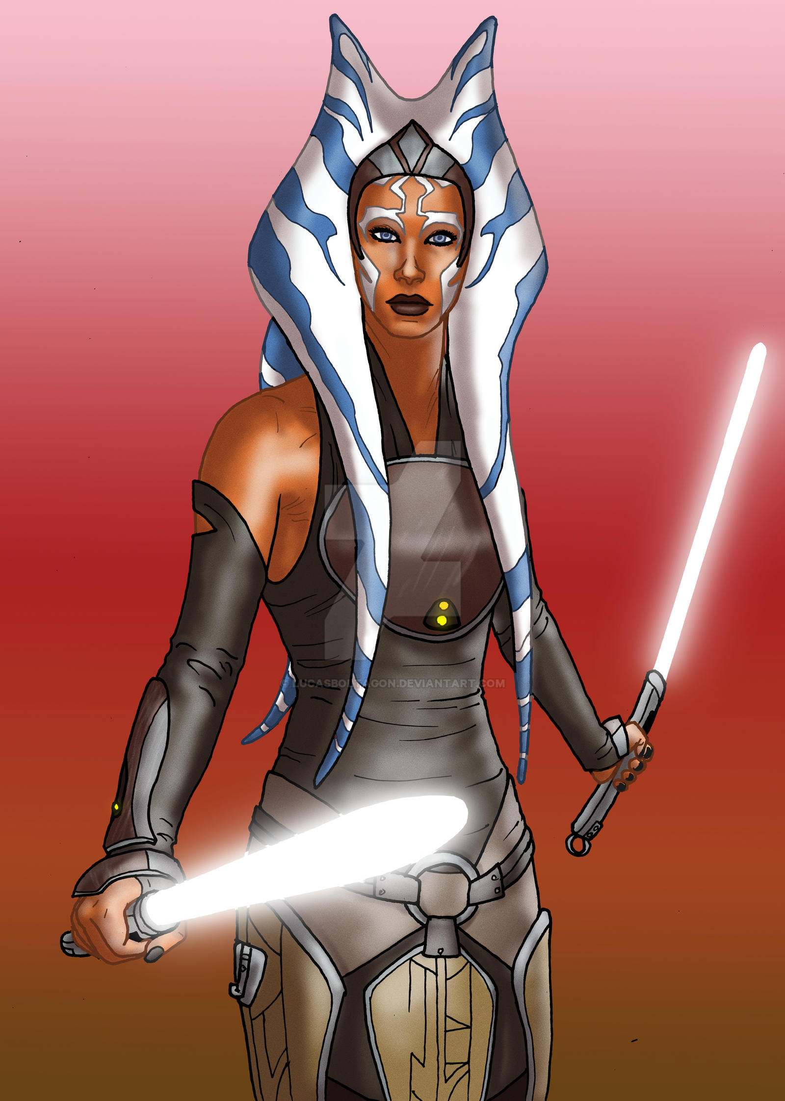 Star Wars Rebels - Ahsoka Tano by ViiPerArt on DeviantArt