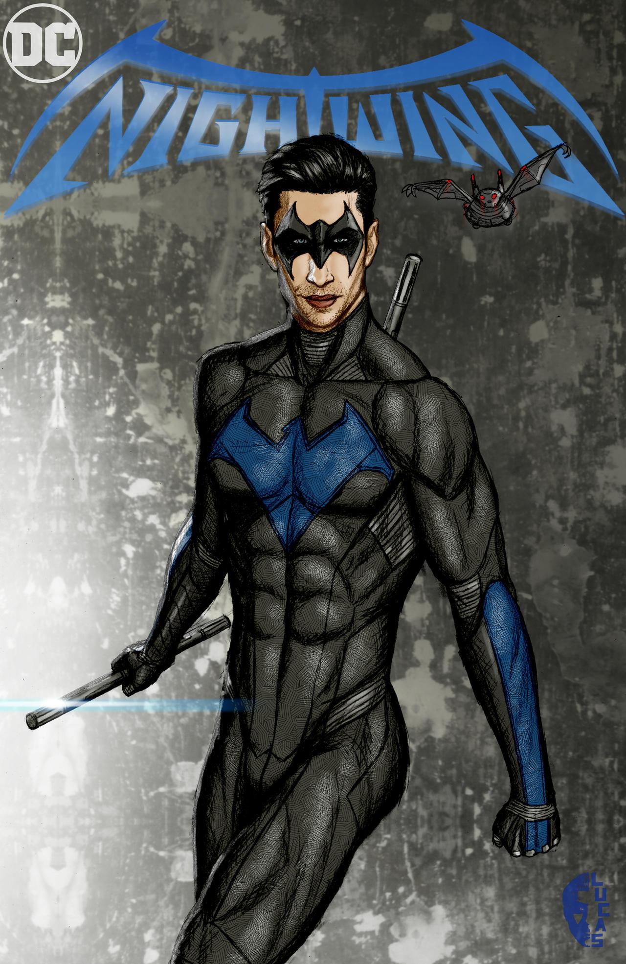 DCEU Nightwing Aaron T...