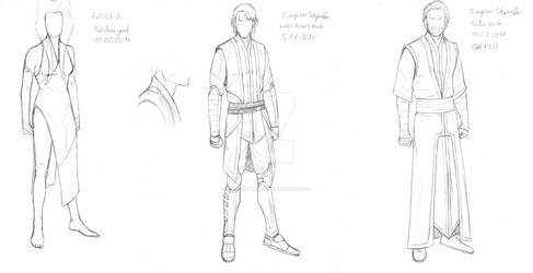 Emperor Skywalker designs from 02 2017