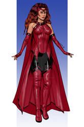 Scarlet Witch - MCU design Comicbook - 06 2021