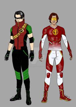 Tim Drake Bart Allen - Civilian-wear - 07 2021