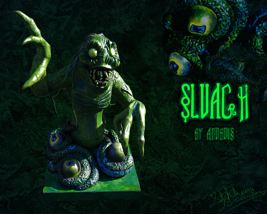 Scavanger Sluagh clay figure. by Anubuis