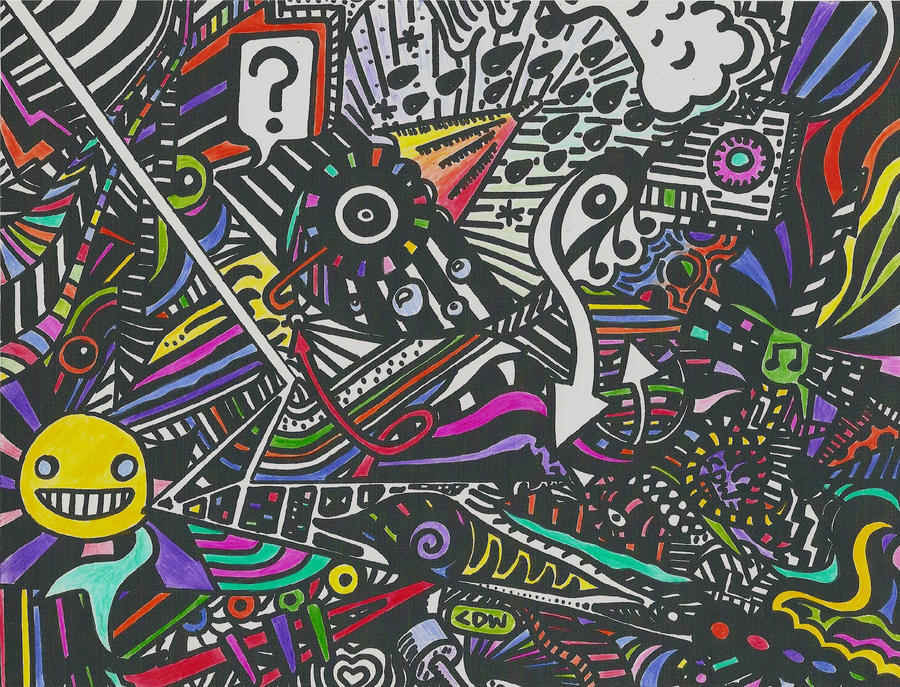 Trippy Color By T3chnicolor3volution On Deviantart