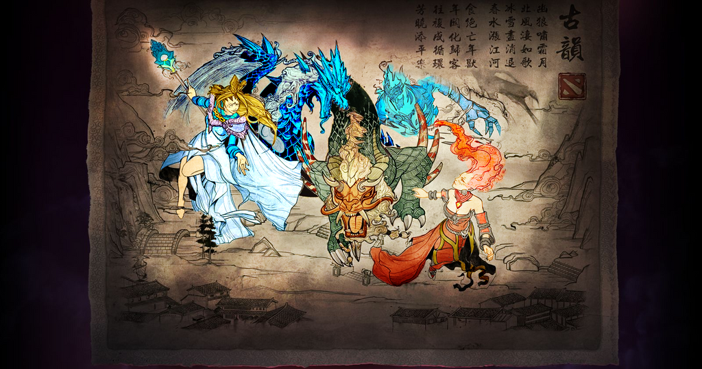 Dota2 - Year Beast Brawl #2(Color) by GODxXx